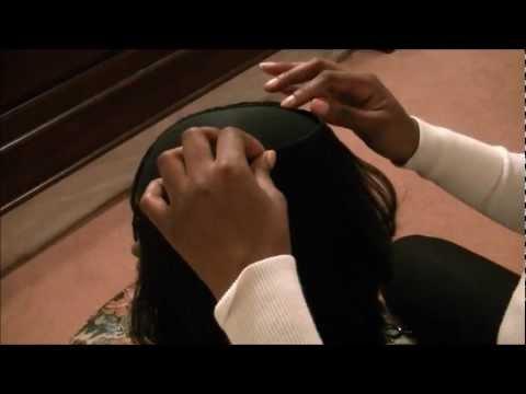 How to make a 3/4 U Part Wig Glue Edition Hair Tutorial