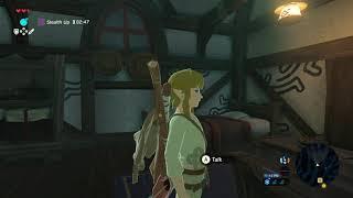 The Legend of Zelda Breath of the Wild - Kakariko Village Introduction: Nanna & Mellie Chat (2019)