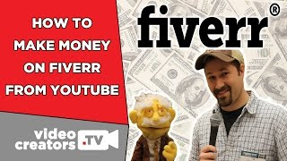 How To Make Money on Fiverr as a YouTuber