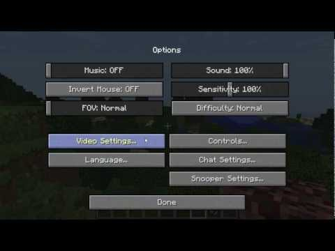 Mod Showcase Optifine 1.4.2 Minecraft Reduce Remove Lag High FPS Run Fast Updated
