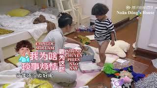 [VIETSUB]  Baby let me go mùa 3: Trần Học Đông  giúp Hào Hào chuẩn bị hành lý
