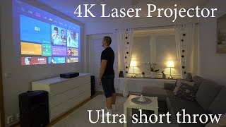 Xiaomi Mi 4K UST laser projector 2019 review and comparison