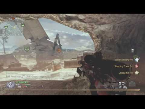 Modern Warfare 2 Gameplay - Sniper Class - 70-3