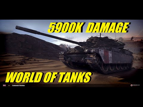 WORLD OF TANKS XBOX - CENTENNIAL ( 5900K DAMAGE ) ¡¡