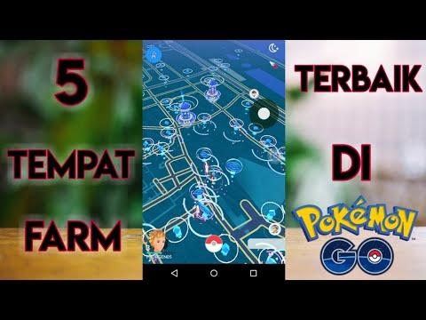 5 TEMPAT FARM TERBAIK DI POKEMON GO - Pokémon GO