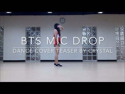 BTS MIC DROP — dance cover teaser by crystal diamond