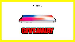 (NOT CLICKBAIT) iPHONE X GIVEAWAY (OFFICIAL iPHONE X GIVEAWAY) HOW TO GET A FREE iPhone X