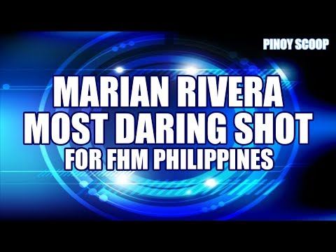 Marian Rivera Topless On FHM