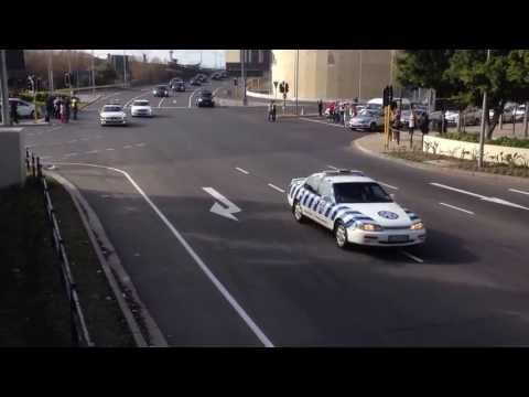 President Obama Passing Through Cape Town, South Africa
