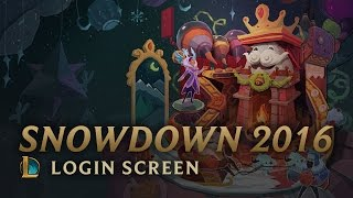 Snowdown 2016 | Login Screen - League of Legends