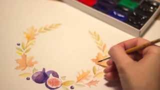 Рисуем акварелью своими руками