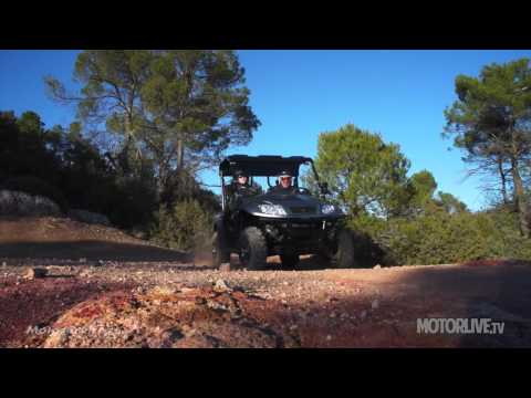 Vidéo Essai Kymco DX 500 et UXV 500