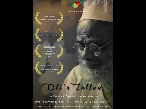 Ali's Letter | Short Film | AISFM,Dhanvignesh Aamuri