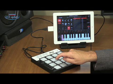 IK Multimedia iRig Pads USB Pad Controller Review - Sweetwater's iOS Update, Vol. 88