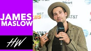 JAMES MASLOW Dishes on Flirting Over Text !!