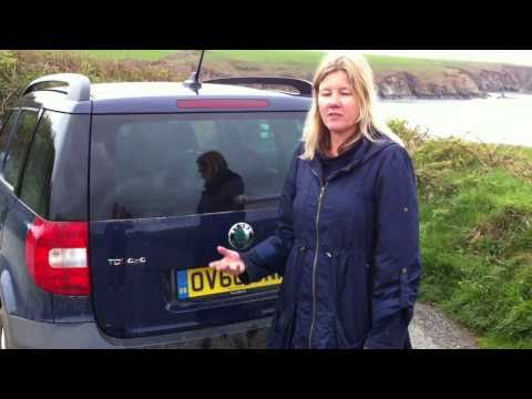 Skoda Yeti 2011 - a family car review in Pembrokeshire - filmed on an iphone4.