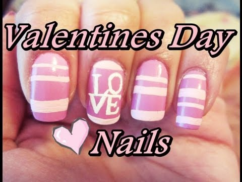 VALENTINES DAY LOVE NAILS