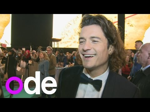 The Hobbit World Premiere: Orlando Bloom on loving his pout