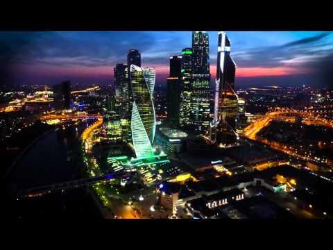 Облёт вокруг Москва-Сити 2016 MoscowCity
