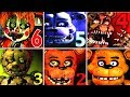 Five Nights at Freddys 6 FNAF 1 2 3 4 5 All Jumpscares Simulator *FNAF 2018*