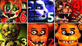 Five Nights at Freddy's 6 FNAF 1 2 3 4 5 All Jumpscares Simulator *FNAF 2018*