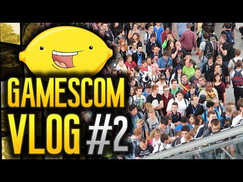GamesCom 2014: Vlog! - Day #2 -