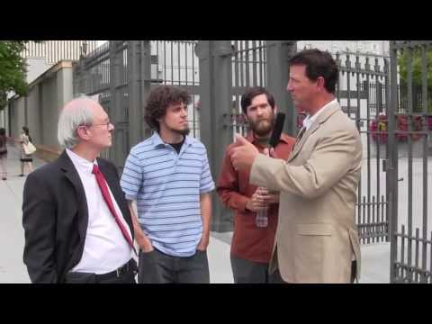 A healthy Mormon and Christian Debate at Salt Lake Temple Square with host Dave Bartosiewicz