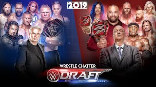 WWE Draft 2019 : 5 SHOCKING PLANS* to happen!! WWE Draft 2019 Prediction | Raw & Smackdown FOX