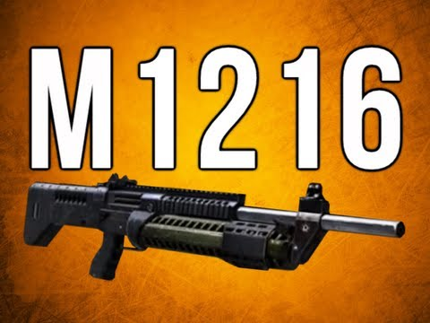 Black Ops 2 In Depth - M1216 Burst Fire Shotgun
