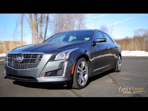 2014 Cadillac CTS Vsport Review - Fast Lane Daily