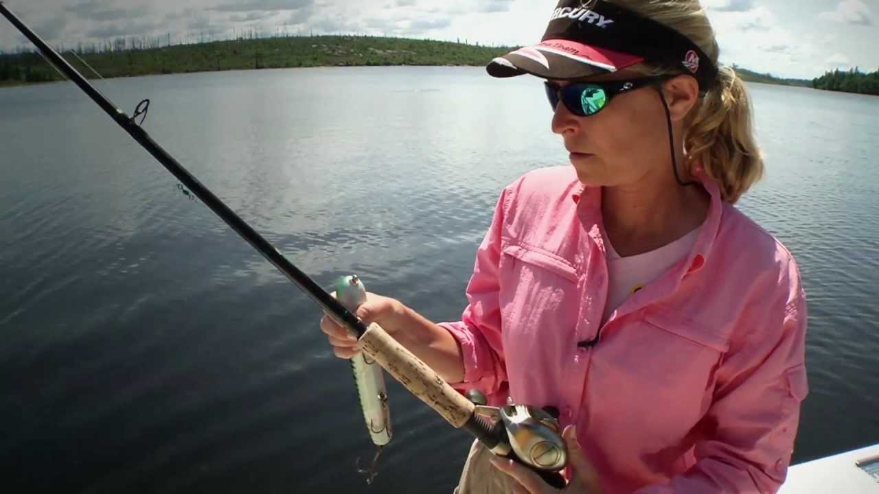 Women and muskie fishing gear season 7 youtube for Women s ice fishing suit