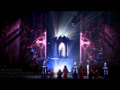 Madonna Intro + Girl Gone Wild New Version) Mdna Tour Europe Bluray video