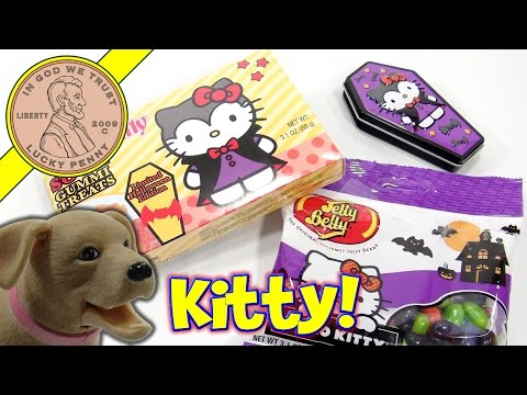 Hello Kitty Candy Sampler!  National Cat Day!  Cat Paws Help Butch!