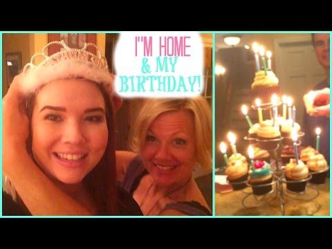 I'M HOME & MY BIRTHDAY! (Lindsey's Life #93)