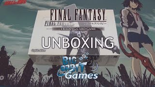Final Fantasy TCG: Opus III (3) Booster Unboxing