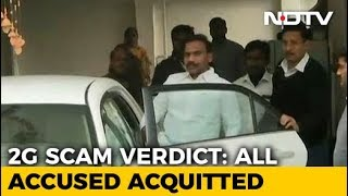 A Raja, Kanimozhi, 15 Other Accused Acquitted in 2G Spectrum Scam Case