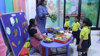 Fruits and Vegetables theme - Preschool Learning - KG