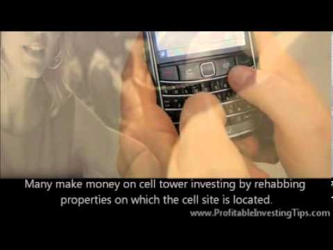 Make Money on Cell Tower Investing