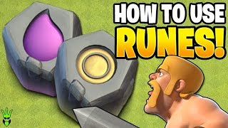 WHAT TO DO WITH ALL OF THESE RUNES?! - Let's Play TH9 - Clash of Clans