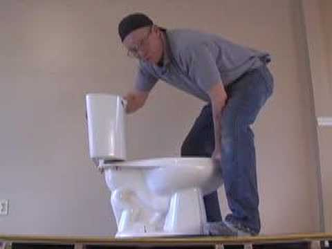 NEW OR USED TOILET INSTALLATION