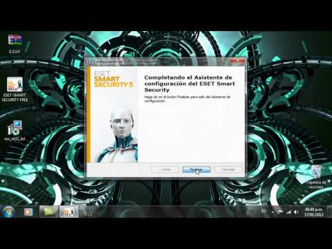 como descargar y activar eset smart security 5 gratis (5.0.95.0 y/o superior)