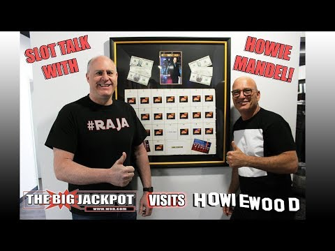Howie Mandel Shows The Raja How to Hit Huge Jackpots!