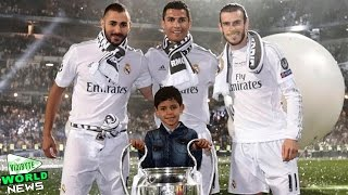 Cristiano Ronaldo and his Son Celebrates Champions League win