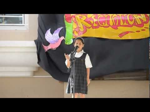 English Poetry Recitation - Elite International School, Qatar video