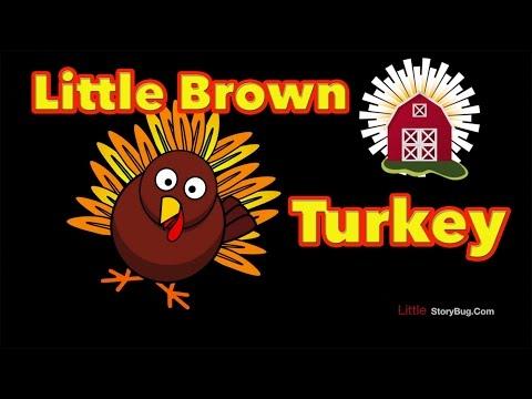 Thanksgiving Preschool Song - Little Brown Turkey - Littlestorybug video