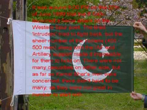 kargil war pakistan army captain Sher Khan Part 1