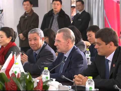IOC president lauds Nanjing Youth Olympics