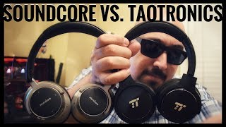 Which One is Best For You? | Anker Soundcore Space NC vs TaoTronics BH040 [2018]