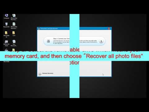 Card Data Recovery recover lost all the photos, videos, audios, documents etc