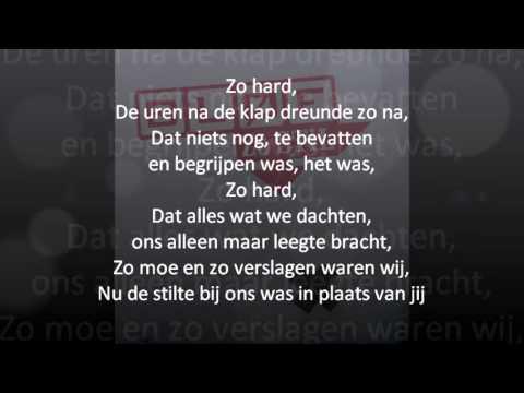 Bløf - Zo Stil (lyrics)